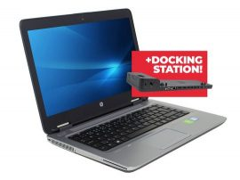 Notebook HP ProBook 640 G2 + Docking station HP 2013 Ultra Slim D9Y32AA